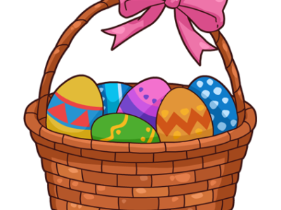 Easter Baskets for Bridge of Peace and Mt. Nebo