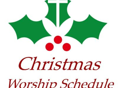 Christmas Worship Service Schedule