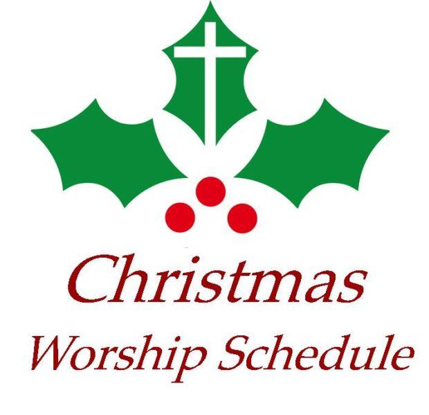 Christmas Worship Service Schedule